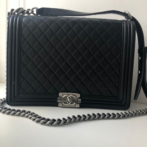 66cf962db7c6 CHANEL Bags | Large Le Boy Bagprice Is Firm | Poshmark